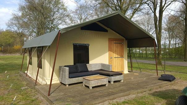 Tentzeil Glamping tent Albers Zeilmakerij